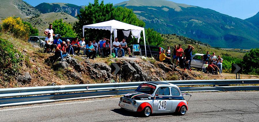 Tra le Bicilindriche successo per Angelo Alessandro Mercuri con la Fiat 500