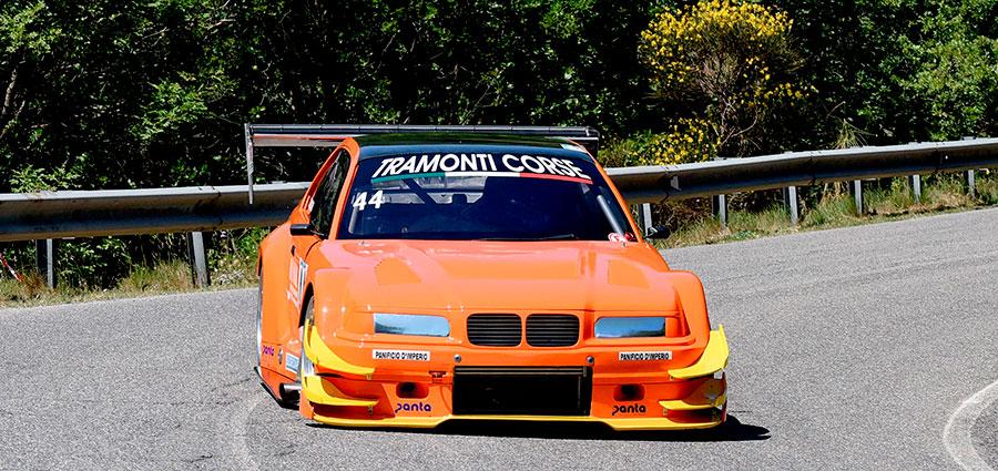 Terzo posto tra le E2 SH per Carmine Tancredi con la Bmw 320 Cosworth Fortech