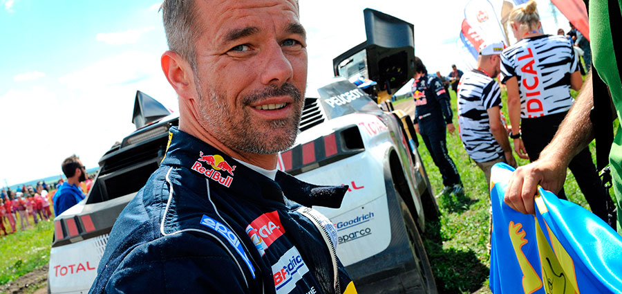 Sfortunata partecipazione di Sébastien Loeb dopo aver condotto la gara in testa alla classifica tutta la prima settimana