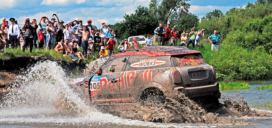 Nono posto per gli americani Bryce Menzies e Peter Mortensen con la Mini John Cooper Works Rally