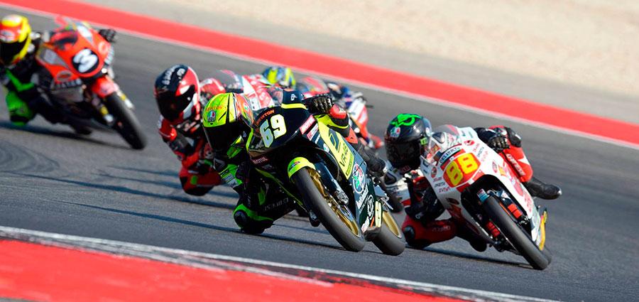 Nella Premoto3 250 4T è stato Lorenzo Bartalesi (RMU VR46 Riders Academy) a conquistare la vittoria