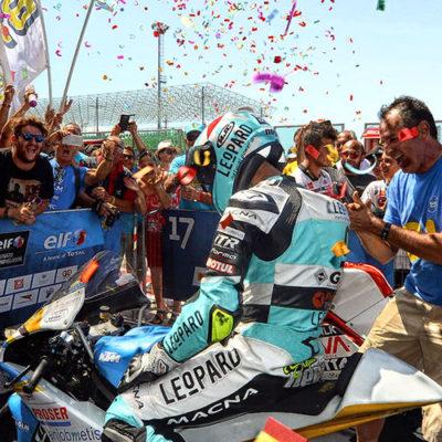 ELF CIV, trionfa Nepa in Moto3 Pirro vola verso il titolo