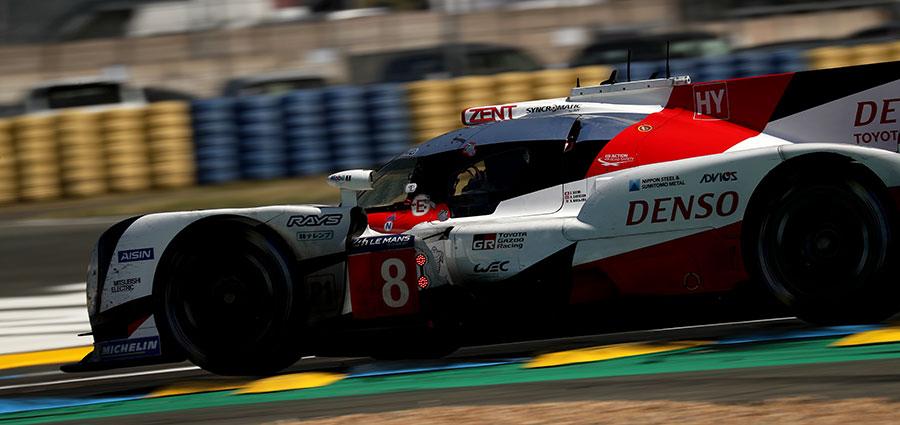 Debacle inaspettata per la Toyota. Dobbiamo scendere fino all'ottava posizione per trovare la vettura #8 di Buemi, Nakajima e Davidson