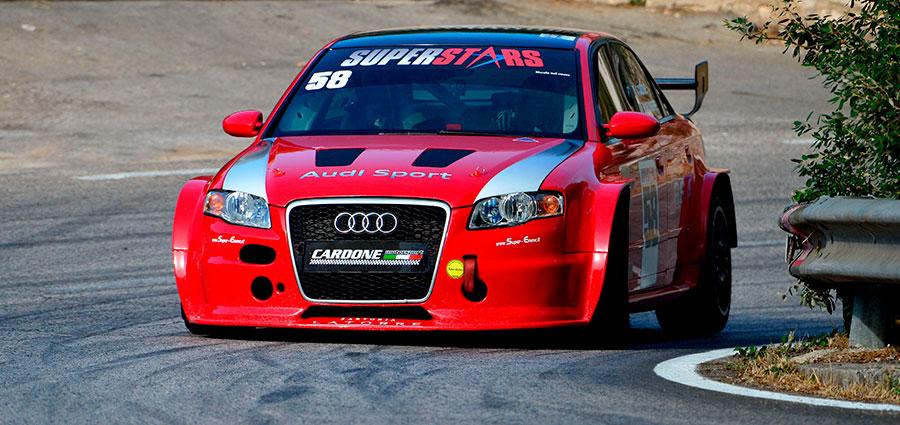 Fa l'esordio nel CIVM l'Audi RS4 Superstars dell'idolo locale Antonio Cardone