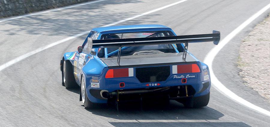 La Fiat X1/9 di Manuel Dondi vince la E2 Silhouette (Foto Claudio Ricciotti)