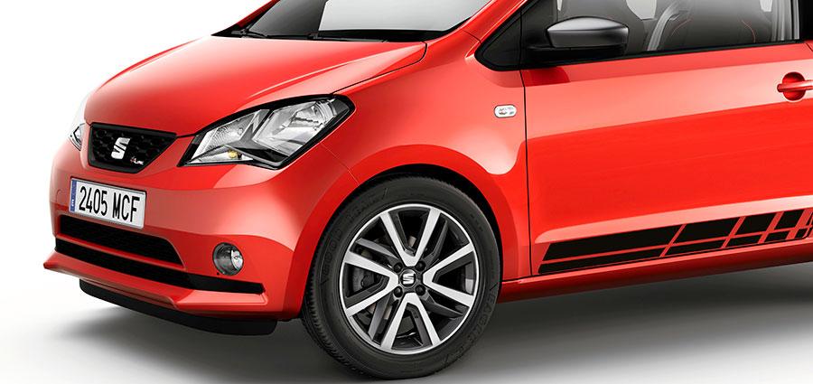 Seat Mii FR Line sarà ordinabile esclusivamente nei colori di carrozzeria Bianco o Rosso Tornado