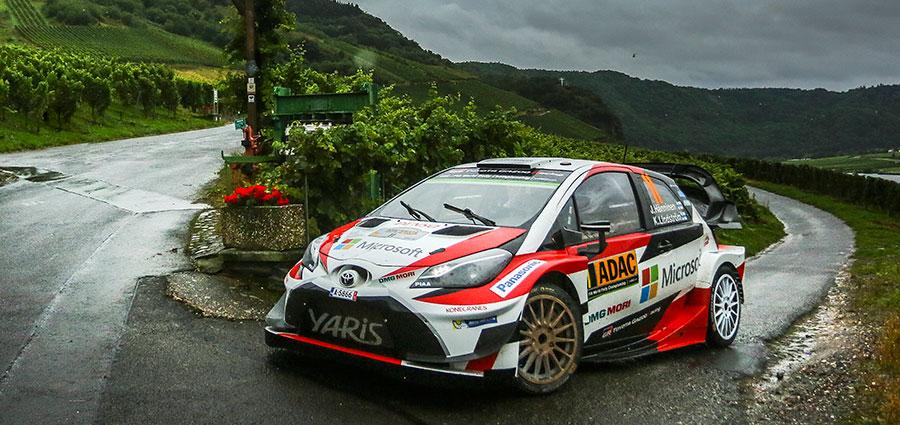 La migliore Yaris WRC è quella di Juho Hanninen e Kai Lindstrom che chiude a ridosso del podio