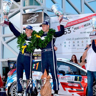 Al Rally del Friuli Albertini agguanta il titolo Italiano WRC