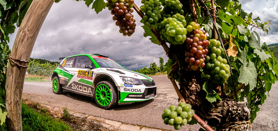 Pontus Tidemand e Jonas Andersson conquistano in anticipo il titolo WRC2 grazie al podio al Rally di Germania