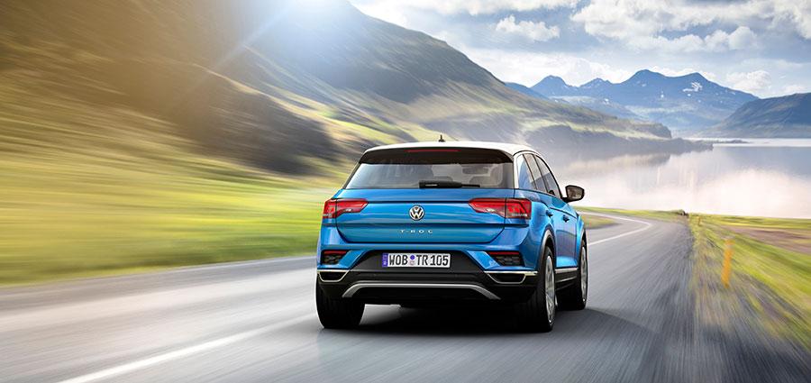 Il design bicolore accentua l'aspetto dinamico della T-Roc.