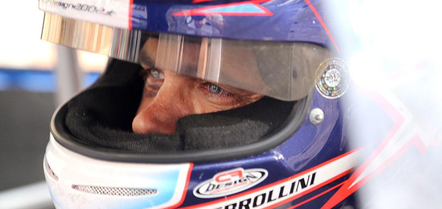 Marco Sbrollini con la Lancia Delta Integrale Evo segna il venticinquesimo tempo e vince la E1 Italia (Foto Claudio Ricciotti)