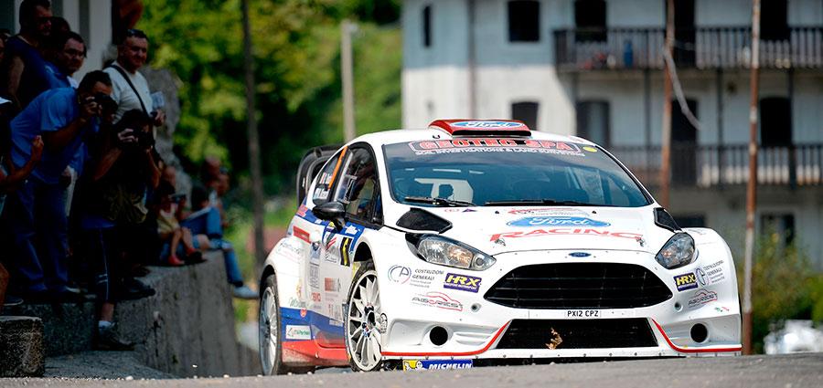 Bene il Rally del Friuli per Giuseppe Testa e Massimo Bizzocchi con la Ford Fiesta Wrc
