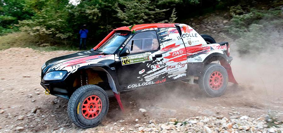 Vittoria per Elvis Borsoi e Stefano Rossi con il Toyota Toyodell nel Campionato Italiano Cross Country Rally