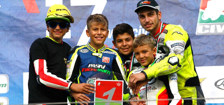 I campioni italiani MiniGP e OHVALE GP-0