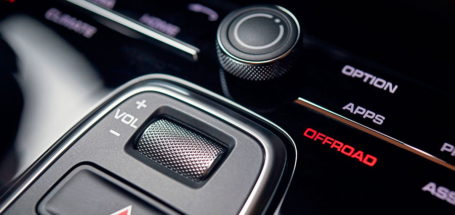 L'Offroad Precision permette di documentare le uscite in fuoristrada e tramite le riprese video migliorare le proprie capacità di guida.