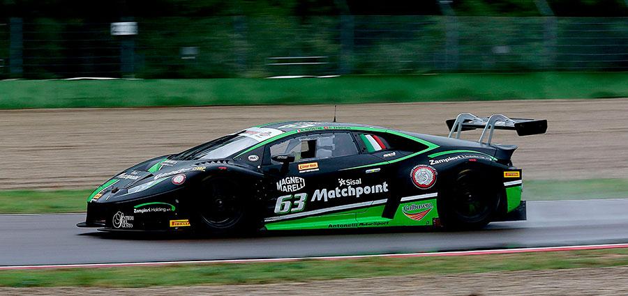 Tutto sommato un buon weekend imolese per Riccardo Agostini e Daniel Zampieri