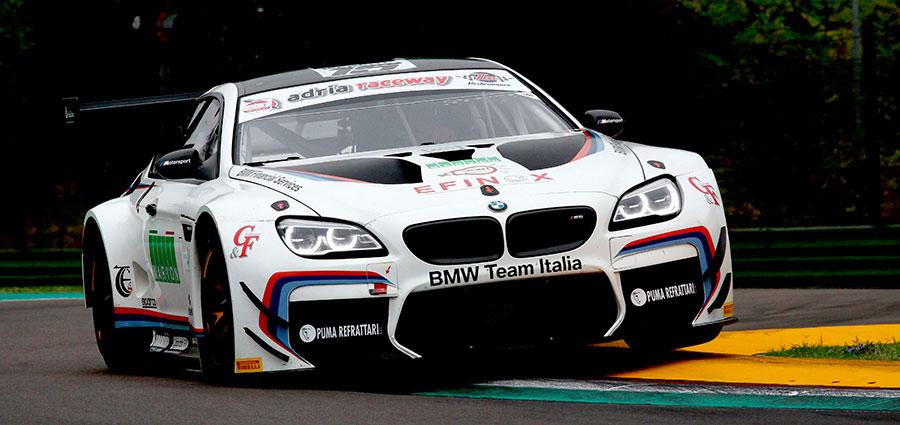 Completa il podio assoluto della prima manche la BMW M6 ufficiale di Alberto Cerqui e Stefano Comandini