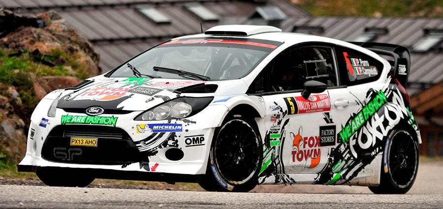 Paolo Porro e Paolo Cargnelutti conquistano il gradino più basso del podio con la Ford Fiesta Wrc.