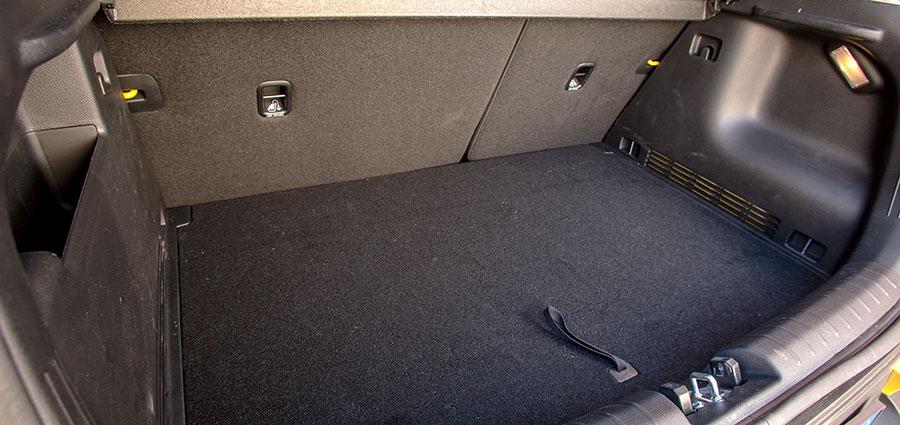Vano bagagli con una una capacità che va dai 352 litri fino a 1155 litri con i sedili posteriori abbattuti.