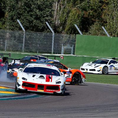 Ferrari Challenge Europa, oro per Di Amato nel giorno della Wohlwend