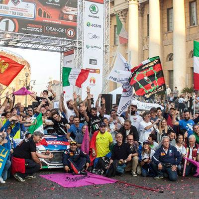 Rally Due Valli, dieci e lode per Andreucci e Peugeot