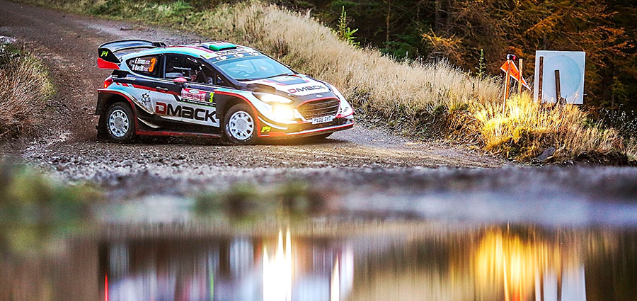 Trionfo al Rally del Galles per Elfyn Evans e Daniel Barritt con la Ford Fiesta Wrc