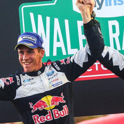 Rally del Galles, Ogier campione nel giorno di Evans