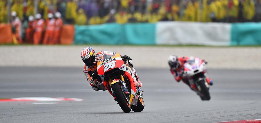 Quinto posto per Dani Pedrosa con l'altra Honda ufficiale