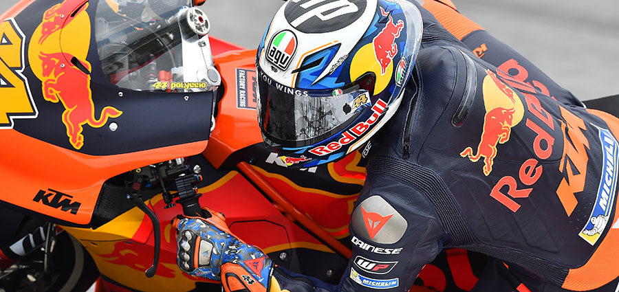 La KTM fa progressi vistosi, specialmente con Pol Espargaro che va a chiudere la top ten