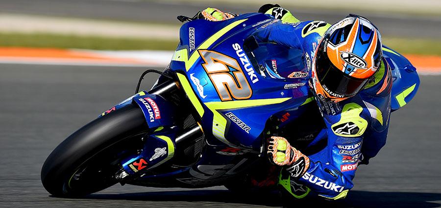 Alex Rins ottimo quarto al miglior piazzamento stagionale con la Suzuki
