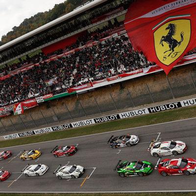 Ferrari Challenge, grande spettacolo per le Finali Mondiali al Mugello