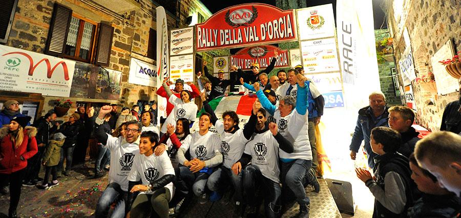 Il titolo del Campionato Italiano Rally Terra va ad Andrea Dalmazzini e Giacomo Ciucci con la Ford Fiesta R5 di X Race Sport