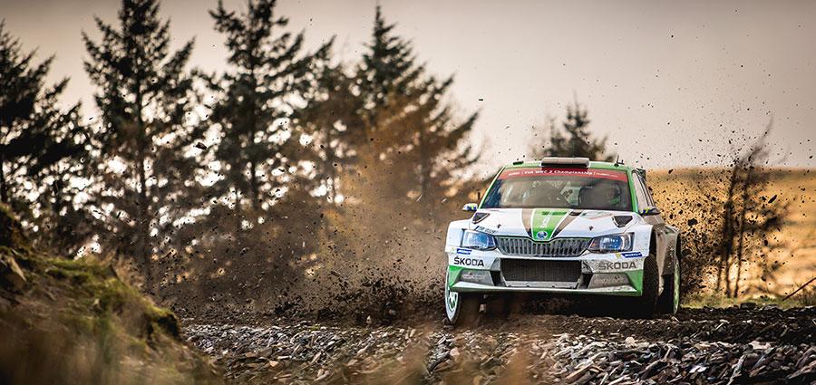 Vittoria in WRC 2 per Pontus Tidemand con la Skoda Fabia R5