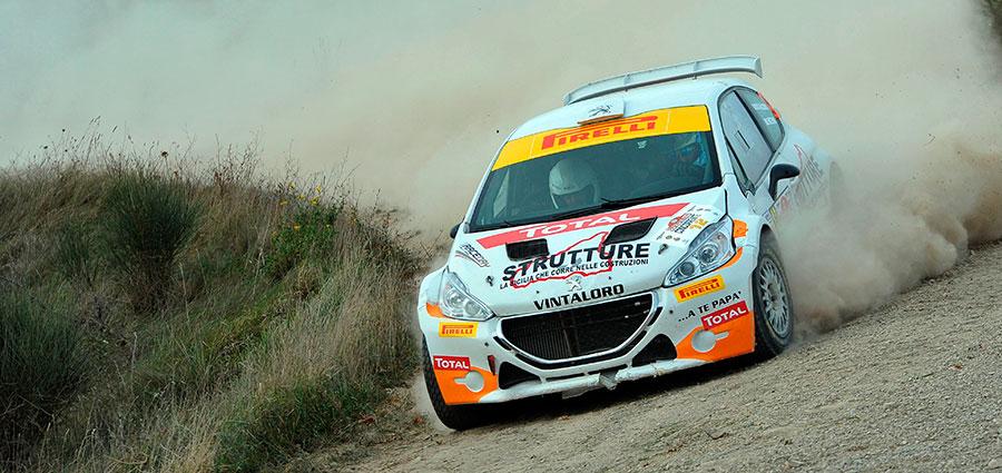 Ottima la prestazione di Matteo Vintaloro con la Peugeot 208 R5