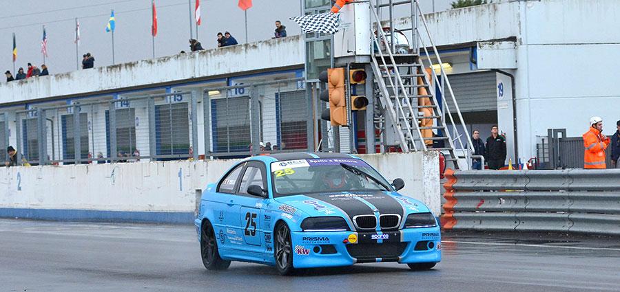 Riccardo Urbani si aggiudica la Divisione A della BMW 318 Racing Series (Foto Paolo Ambrosi)