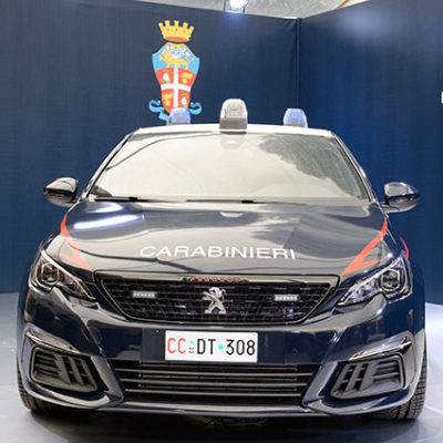 La Nuova Peugeot 308 GTi per l'Arma dei Carabinieri