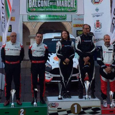 Rally Balcone delle Marche, vince Ricci tra i colpi di scena