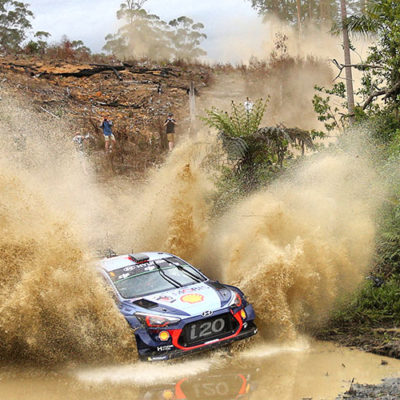 Rally d'Australia, trionfa Neuville ed è secondo