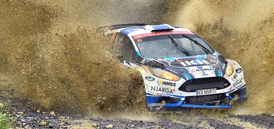 A ridosso della top ten chiude il giovanissimo Kalle Rovanpera con la Ford Fiesta R5