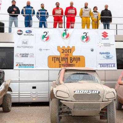 Campionato Italiano Cross Country Rally 2017, ecco le classifiche