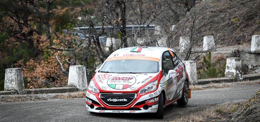 Nella WRC 3 in evidenza il nostro Enrico Brazzoli che vince con la Peugeot 208 R2B