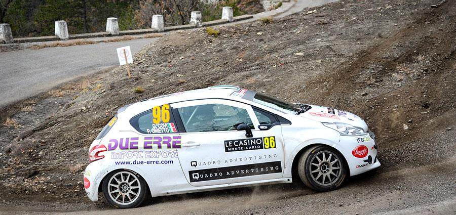 Con la Peugeot 208 R2B Carlo Covi e Carlo Campesan terminano quarantatreesimi (Foto Stefano Romeo)