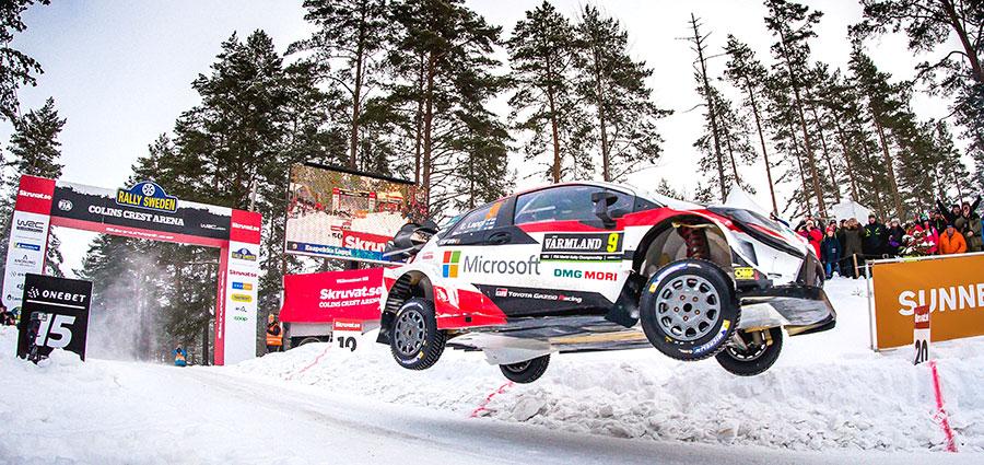 Termina ai piedi del podio Esapekka Lappi protagonista con la Toyota Yaris Wrc