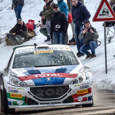 Rally il Ciocco: il CIR riparte nel segno di Peugeot e Andreucci