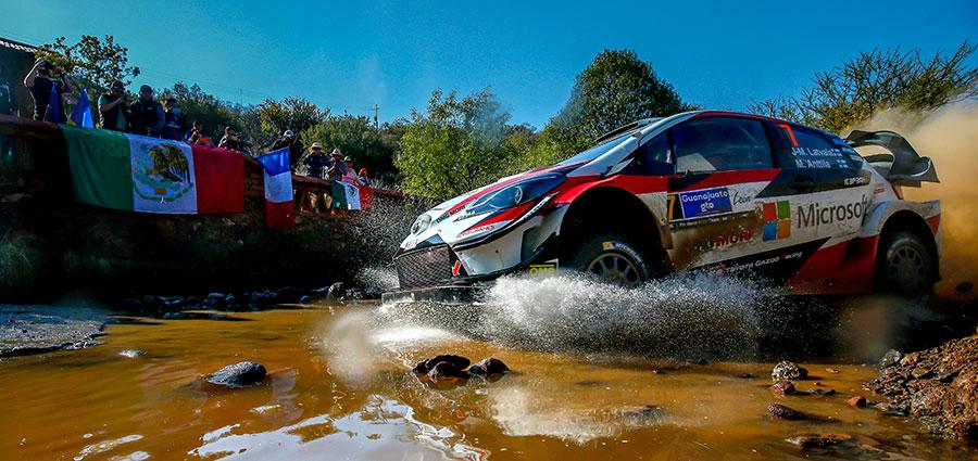 Jari-Matti Latvala (Toyota Yaris Wrc)