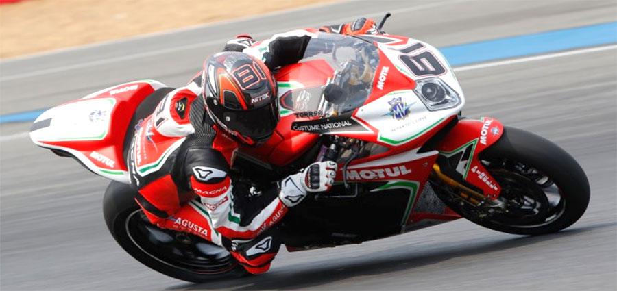 Un decimo posto e un ritiro è il bottino della MV Agusta 1000 F4 di Jordi Torres