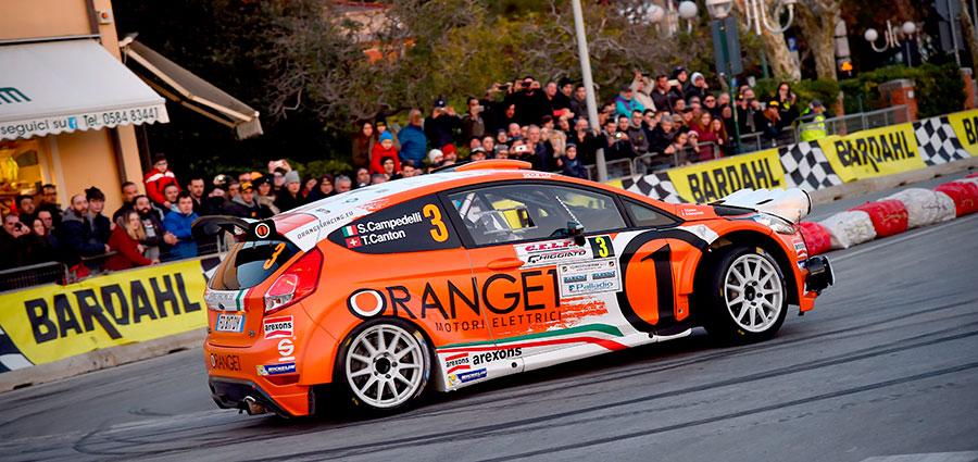 Simone Campedelli e Tania Canton completano il podio del Rally il Ciocco e Valli del Serchio