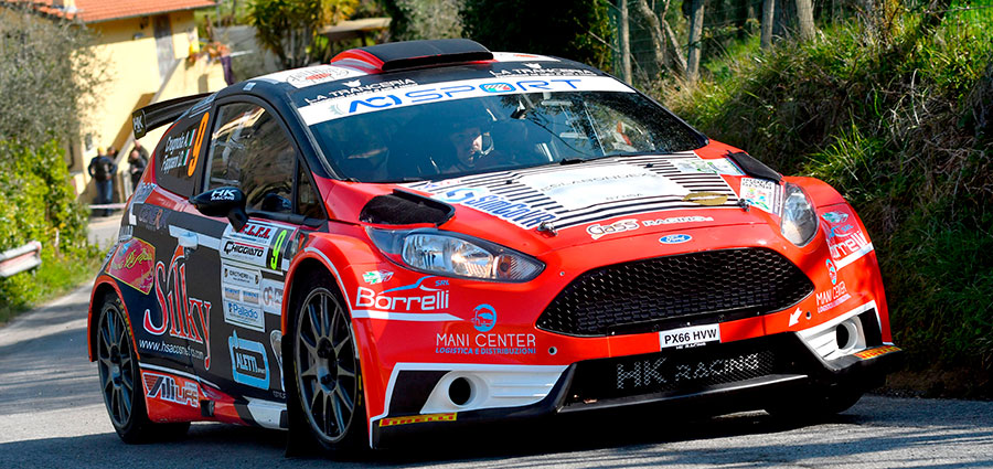 Ottimo secondo posto per Andrea Crugnola e Danilo Fappani con la Ford Fiesta R5