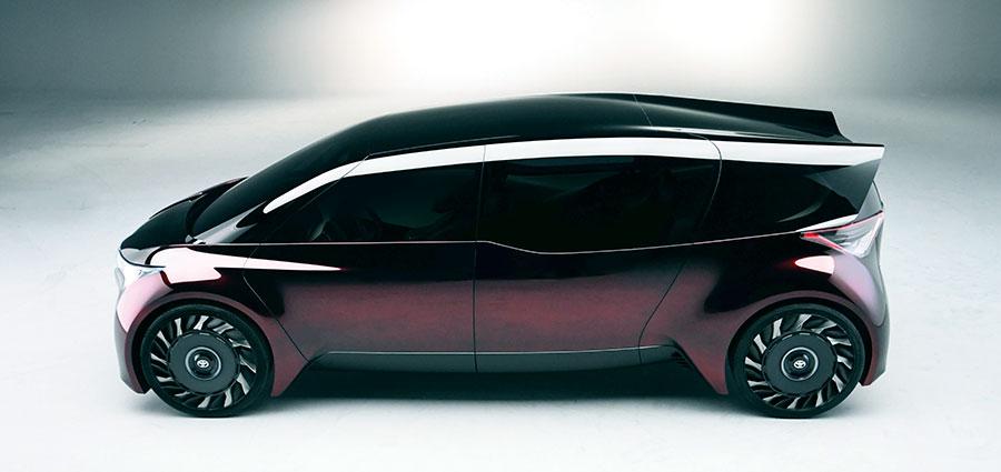Il Fine-Comfort Ride, prototipo a trazione elettrica