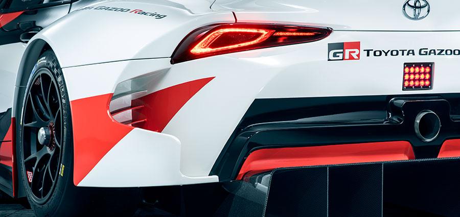 Il prototipo GT Supra Racing